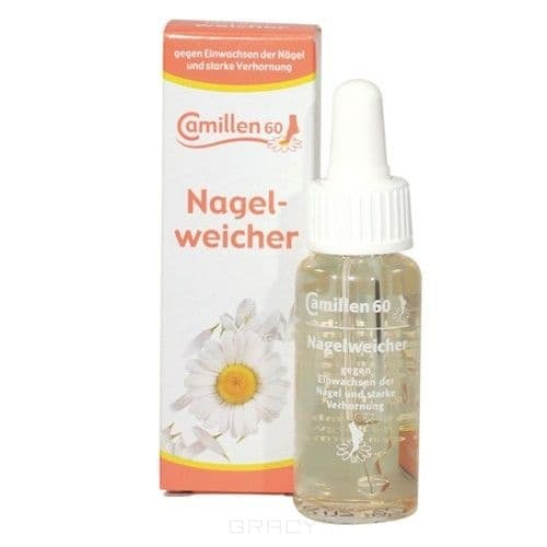 Camillen 60 Смягчитель для ногтей Nagel weicher, 20 мл, Смягчитель для ногтей Nagel weicher, 20 мл, 20 мл недорого