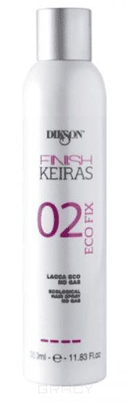 Dikson Лак жидкий экологический, сильной фиксации Finish eco fix 02, 350 мл alterna лак сильной фиксации caviar anti aging extra hold hair spray 400ml