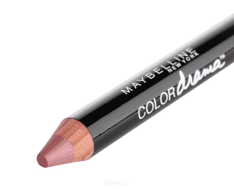 Maybelline, Помада-карандаш для губ Color Drama, 6 г (7 оттенков) 140 Жемчужный персиковый