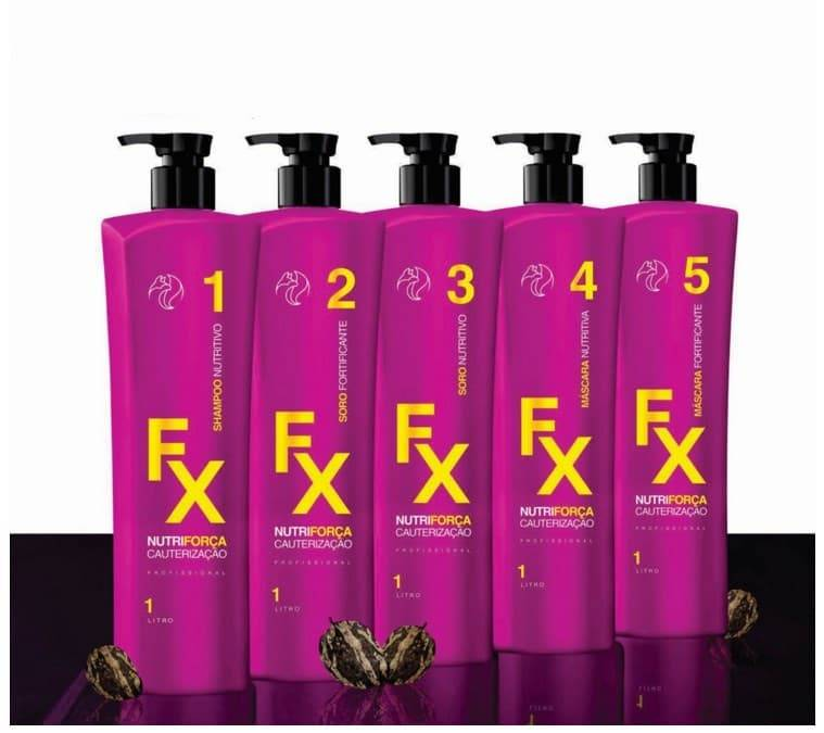 цена на Набор Сверхсила Волос Fox FX Nutriforce, 5х1л