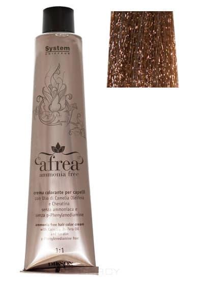 Dikson, Стойкий краситель для волос без аммиака Afrea ammonia free, 120 мл (42 оттенка) 190-15 AFREA ammonia free 6С 6,1 темно-русый с пепельным оттенком