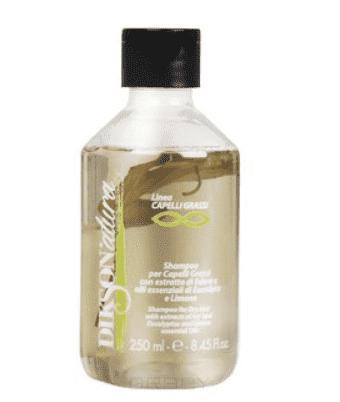 Dikson Шампунь для жирной кожи головы и волос с лимоном Grassi, 250 мл dikson укрепляющий шампунь с гидрализованными протеинами риса для нормальных волос 1000 мл