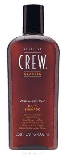 American Crew Шампунь для ежедневного ухода за волосами Classic Daily Shampoo, Шампунь для ежедневного ухода за волосами Daily Shampoo, 450 млШампунь для ежедневного ухода за волосами Classic Daily Shampoo, 250 мл american crew шампунь для седых и седеющих волос classic gray shampoo 250 мл