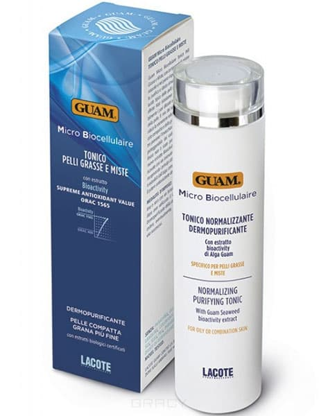Guam Тоник для проблемной кожи Micro Biocellulaire, 200 мл guam тоник для проблемной кожи micro biocellulaire 200 мл