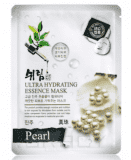 Shelim Тканевая маска для лица с экстрактом жемчуга Ultra Hydrating Essence Mask Pearl, 25 мл