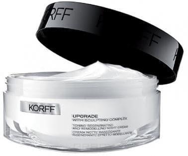 Korff Регенерирующий моделирующий и тонизирующий ночной крем Upgrade Toning Regenerating and Remodelling Night Cream, 50 мл ixxi регенерирующий ночной крем для лица sublixime overnight regenerating cream 50 мл