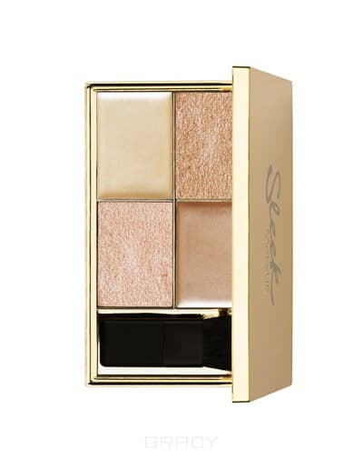 Sleek MakeUp Хайлайтер, палетка Cleopatra's Kiss 033 Highlighting Palette 96141335 хайлайтер sleek makeup highlighting palette cleopatra s kiss