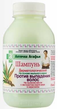 Рецепты бабушки Агафьи Шампунь дерматологический против выпадения волос Аптечка Агафьи, 300 мл