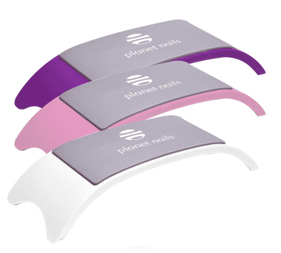Planet Nails Подставка под руку силиконовая, 1 шт, Фиолетовый