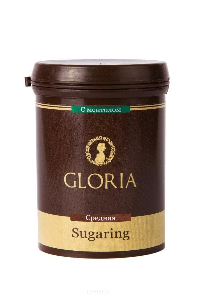 Gloria, Паста для шугаринга средняя с ментолом, 1,8 кг
