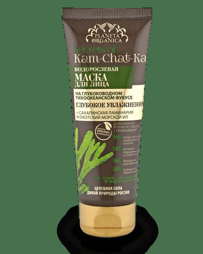 Planeta Organica Водорослевая маска для лица Глубокое увлажнение Kam-chat-ka, 75 мл ламинария водоросли в порошке купить в аптеке цена