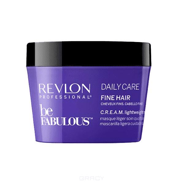 Купить Revlon - Очищающая маска для тонких волос Be Fabulous Daily Care Fine Hair Lightweight Mask, 200 мл