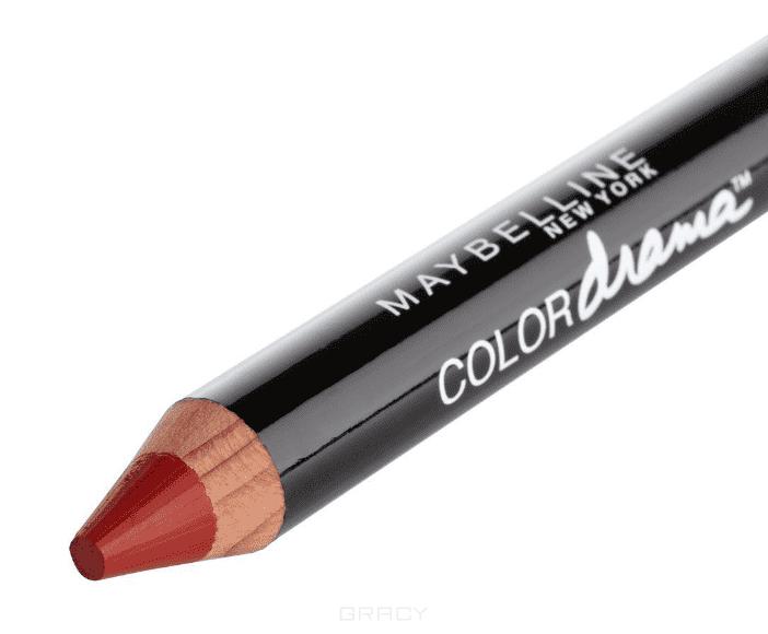 Maybelline, Помада-карандаш для губ Color Drama, 6 г (7 оттенков) 510 Элегантный бордовый