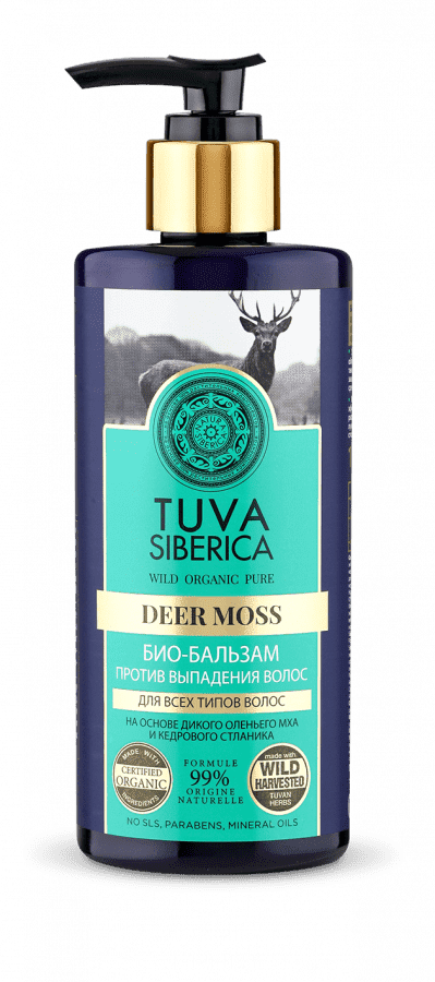 Natura Siberica Био-бальзам против выпадения волос Tuva Siberica, 300 мл