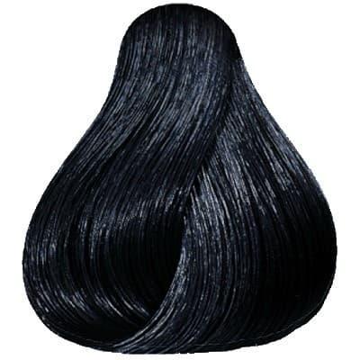 Wella, Стойкая крем-краска Koleston Perfect, 60 мл (116 оттенков) 2/0 черный