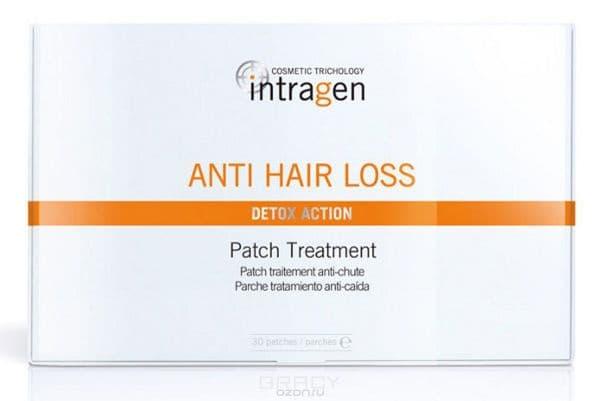 Пластырь против выпадения волос Intragen Anti-Hair Loss Treatment Patch, 30 шт концентрат intragen intragen set комплекс против выпадения волос