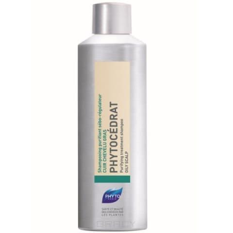 Phytosolba Фитоцедра шампунь себорегулирующий для жирных волос, 200 мл