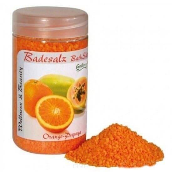 Camillen 60 Соль для ножных ванн «Апельсин и Папайя», 350 гр