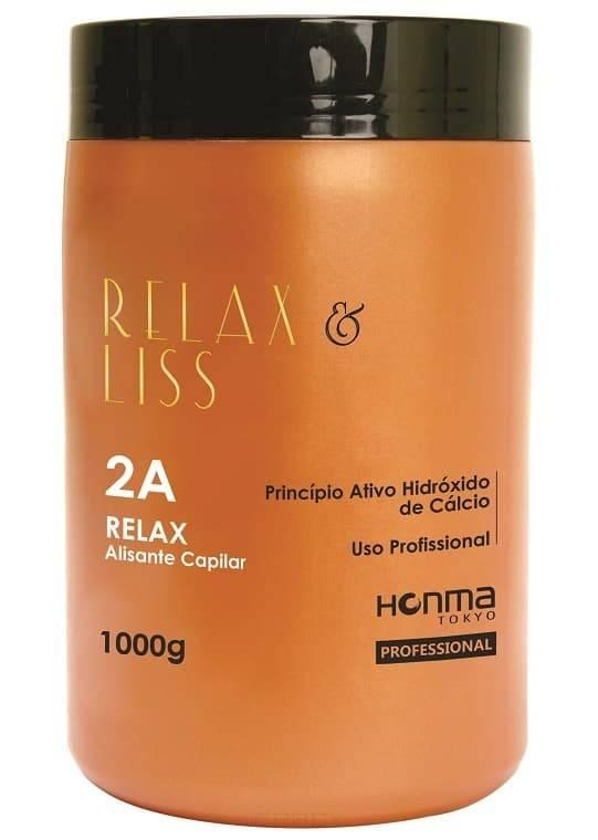 Honma Tokyo Шаг 2А Линии «Relax & Liss» Релаксатор, 1000 гр. средства для волос