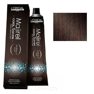 LOreal Professionnel, Краска для волос Majirel Cool Cover, 50 мл (33 оттенка) 4.8 шатен мокка