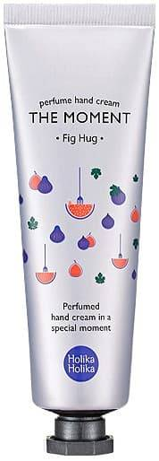 Holika Holika Крем для рук Инжир The Moment Perfume Hand Cream Fig Hug, 30 мл, Крем для рук Инжир The Moment Perfume Hand Cream Fig Hug, 30 мл, 30 мл кремы the saem hand c крем для рук chocopie hand cream marshmallow