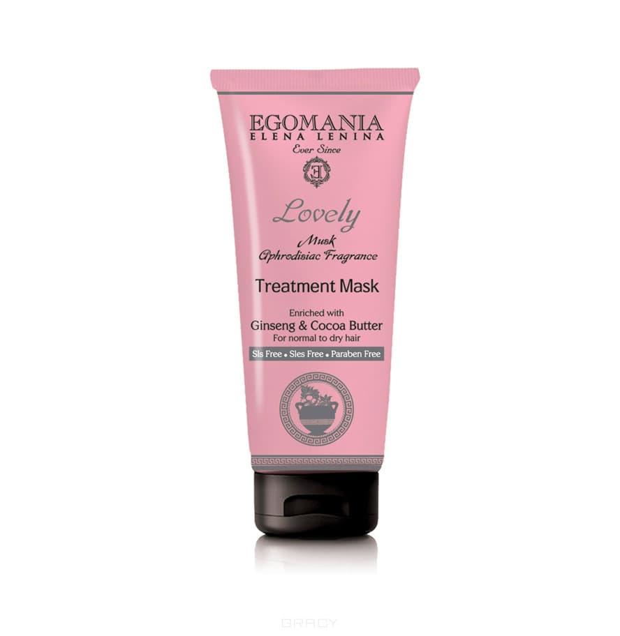 Egomania Маска с женьшенем и маслом какао для нормальных и сухих волос, 250 мл