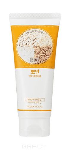 Купить Holika Holika - Очищающая пенка для лица Дэйли Фреш , рис, нормализующая тон кожи Daily Fresh Rice Cleansing Foam, 150 мл