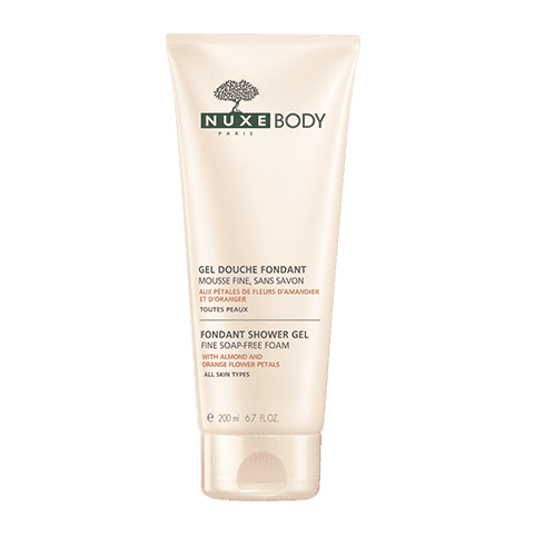 Nuxe Нежный гель для душа Nuxe body, 200 мл nuxe nuxe body fondant shower gel гель для душа 200 мл