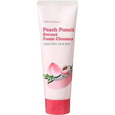 Tony Moly Очищающее средство для лица с экстрактом персика Peach Punch Sweet Foam Cleanser, 150 мл