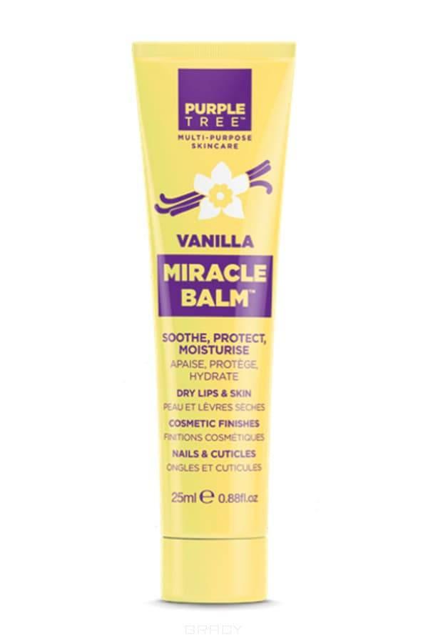 Purple Tree Бальзам для губ Ваниль Miracle Balm Vanilla, 25 мл бальзам для губ purple tree pomegranate miracle balm объем 25 мл