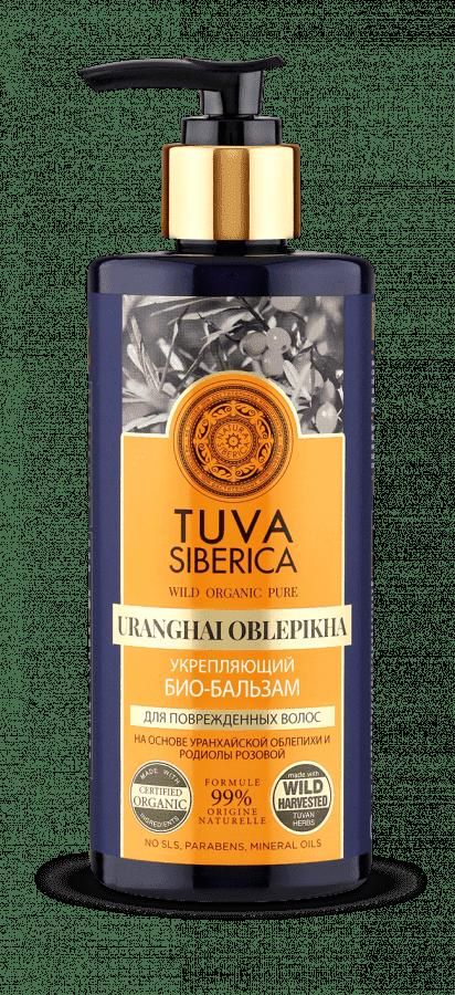 Natura Siberica Био-бальзам укрепляющий Tuva Siberica, 300 мл, Био-бальзам укрепляющий, 300 мл, 300 мл гели natura siberica био гель для душа питательный tuva 300 мл