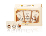 Holika Holika Gudetama LAZY & JOY The Sweet Dessert Hand Cream Set Набор из 3 кремов для рук, 30мл+30мл+30мл Холика Холика