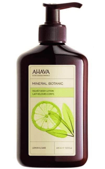 Ahava Бархатистый крем для тела лимон и шалфей Mineral Botanic, 400 мл ahava time to hydrate нежный крем для глаз 15 мл