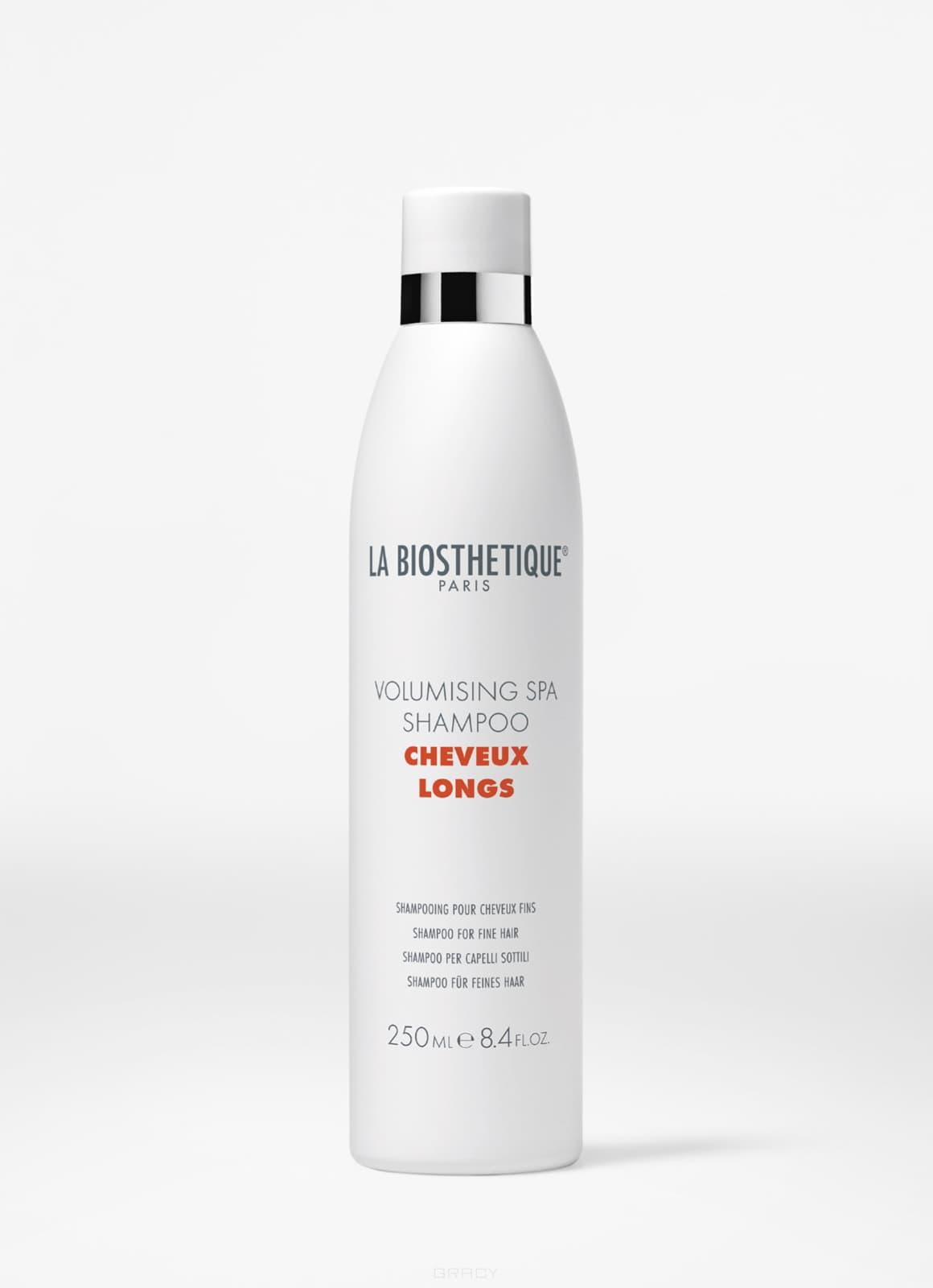 La Biosthetique SPA-шампунь для придания объема длинным волосам Volumising Spa Shampoo, 250 мл la biosthetique silky spa shampoo spa шампунь для придания шелковистости длинным волосам 1000 мл