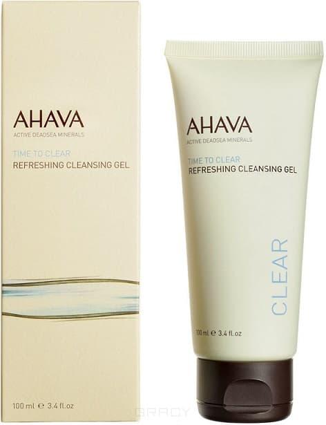 Ahava Освежающий гель для очищения кожи Time To Clear, 100 мл ahava time to hydrate нежный крем для глаз 15 мл