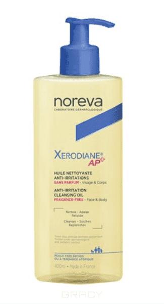 Noreva Очищающее липидовосстанавливающее масло без ароматизаторов Xerodiane AP+, 500 мл кремэмольянт для очень сухой и атопичной кожи ксеродиан ар 200 мл noreva xerodiane ap