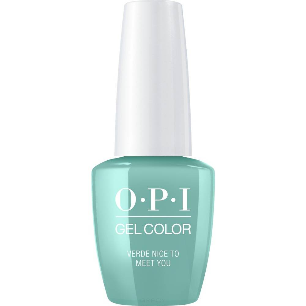 OPI, Гель-лак GelColor, 15 мл (259 цветов) Verde Nice to Meet You / Mexico City