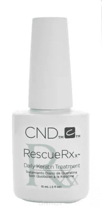 CND (Creative Nail Design) Масло для укрепления ногтей кератин RescueRXx, 15 мл cnd creative play вase coat 13 6 мл