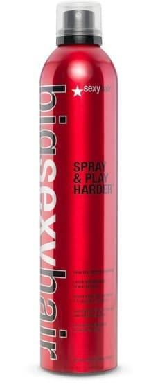 Sexy Hair, Спрей для дополнительного объема Spray  Play Harder Firm Volumizing Hairspray, 300 мл