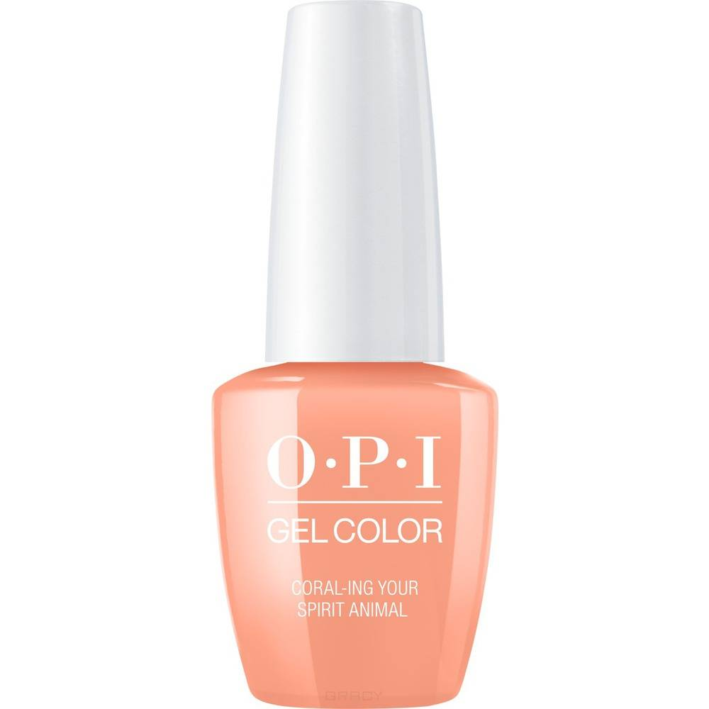 OPI, Гель-лак GelColor, 15 мл (259 цветов) Coral ing Your Spirit Animal / Mexico City