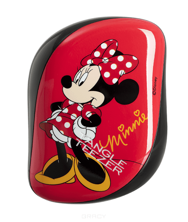 Tangle Teezer Расческа для волос Compact Styler Minnie Mouse Rosy Red tangle teezer расческа compact styler minnie mouse rosy red расческа compact styler minnie mouse rosy red