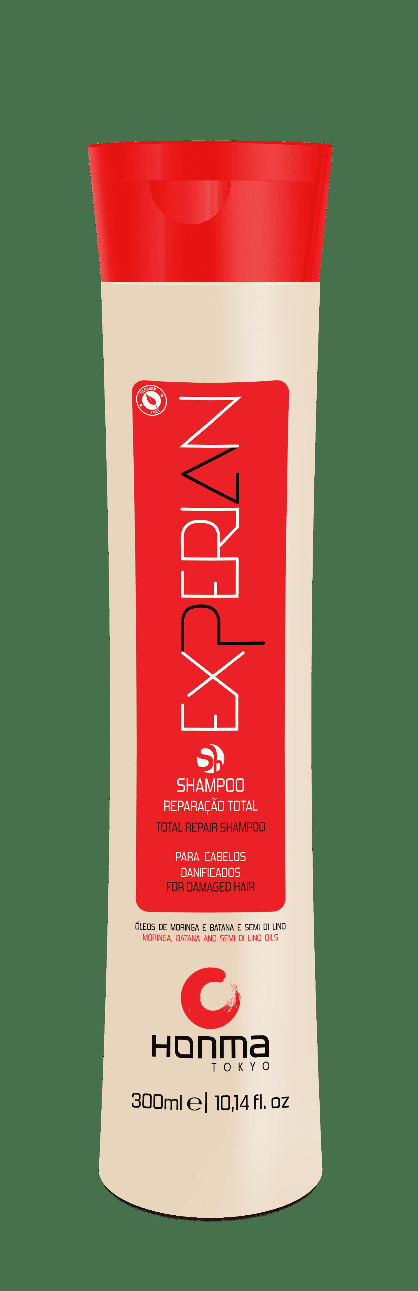 Honma Tokyo Шампунь Линии «Experian», 300 мл honma tokyo шампунь глубокой очистки линии n solutions 1000 мл