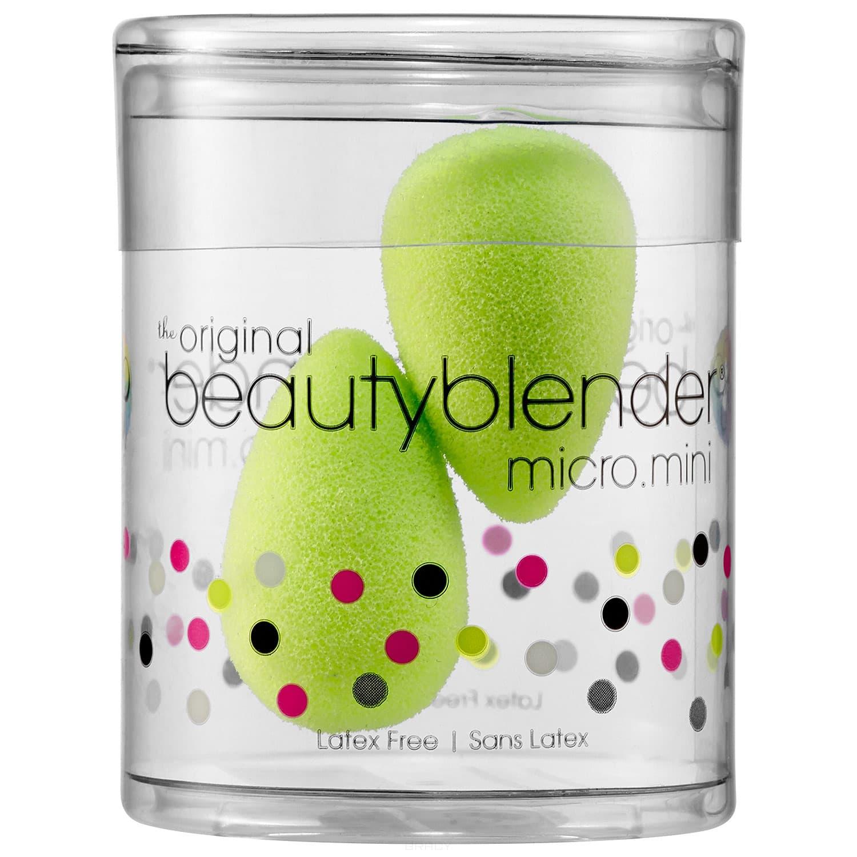 BeautyBlender, 2 мини-спонжа для макияжа Micro Mini