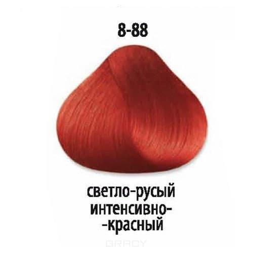 Constant Delight, Стойкая крем-краска для волос Delight Trionfo (63 оттенка), 60 мл 8-88 Светлый русый интенсивный красный