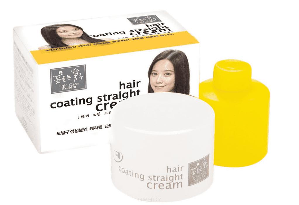 Купить Flor de Man - Крем для выпрямления волос Мэн виз Флаверс Care System hair coating straight cream, 110 мл