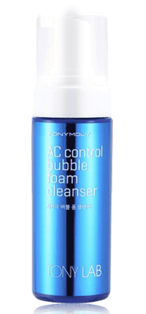 Tony Moly Пенка для для умывания для проблемной кожи Tony Lab AC Control Bubble Foam Cleanser, 150 мл недорого