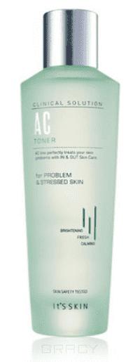 It's Skin Тонер для проблемной кожи Клиникал Солюшн Clinical Solution AC Toner, 150 мл точечная эссенция для проблемной кожи it s skin clinical solution ac spot essence