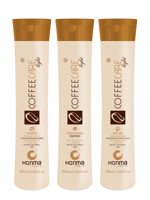 Honma Tokyo Набор Coffee Care Light, шампунь 1000 мл, кондиционер 1000 мл honma tokyo h teace саше шампунь кондиционер 10 мл