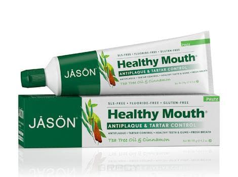 Jason Зубная паста Чайное дерево Healthy Mouth Toothpaste, 119 мл, Зубная паста Чайное дерево Healthy Mouth Toothpaste, 119 мл, 119 мл household mouth shape 2pcs toothpaste squeezers