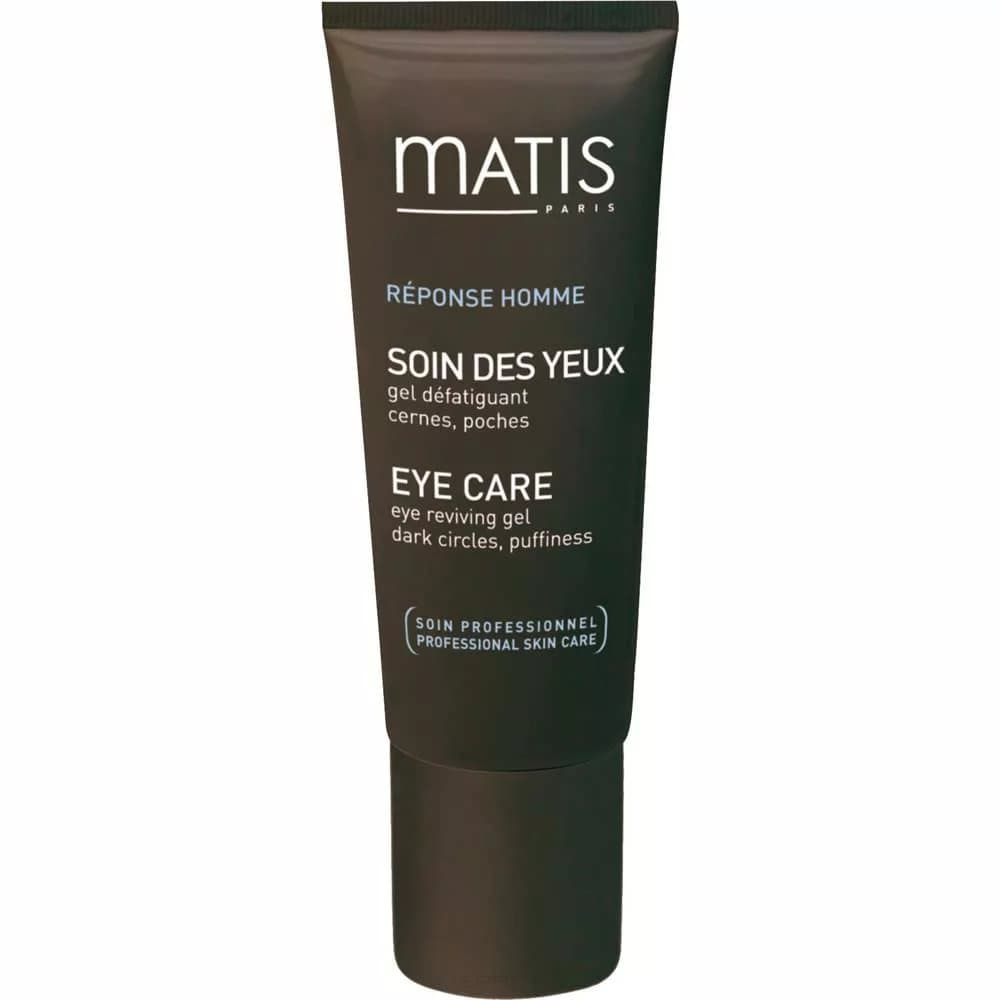 Matis Гель для кожи вокруг глаз против тёмных кругов и отёков Мужская Линия, 15 мл